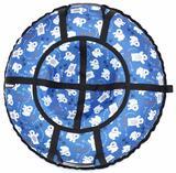Ватрушка-Тюбинг 100 см Мишки синий