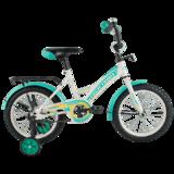 """Детский велосипед Tech Team 135 12"""" от 2 до 4 лет белый"""