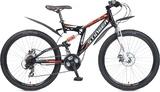 Двухподвесный велосипед Stinger Highlander 200D 26 (2018)