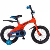 Детский велосипед Novatrack Blast 14'' от 3 до 5 лет оранжевый