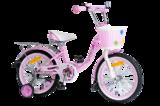 """Детский велосипед Nameless Lady 16"""" от 4 до 6 лет розовый"""