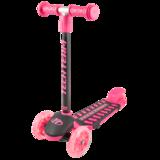 Детский трехколесный самокат Tech Team Lambo розовый