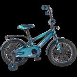 """Детский велосипед Tech Team 134 12"""" от 2 до 4 лет синий"""