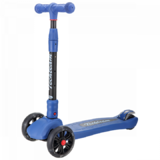 Детский трехколесный самокат Tech Team Tiger Plus синий
