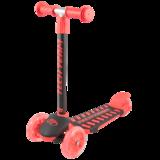 Детский трехколесный самокат Tech Team Lambo красный