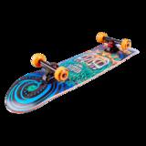 Деревянный скейтборд Switch оранжевый