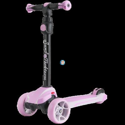 Детский трехколесный самокат Surf Girl 2019 розовый