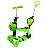 Самокат Scooter 21st.5в1 Божья коровка зеленый