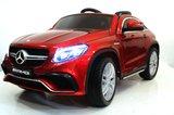 Детский лицензионый электромобиль Mercedes-AMG GLE63 красный