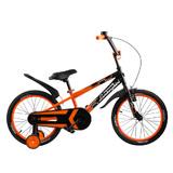 "Велосипед Lamborghini Strada 18"" от 5 до 7 лет оранжевый"