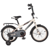 """Детский велосипед TT 134 20"""" от 6 до 10 лет белый"""
