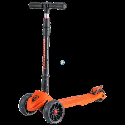 Детский трехколесный самокат Zig Zag 2019 оранжевый