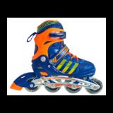 Раздвижные роликовые коньки Soft 2019 синие