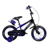 "Велосипед Lamborghini Strada 14"" с бутылочкой синий"