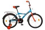 """Детский велосипед NOVATRACK Astra 20"""" от 6 до 10 лет синий"""