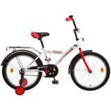 """Детский велосипед NOVATRACK Astra 20"""" от 6 до 10 лет белый"""