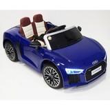 Детский электромобиль RiverToys Audi R8 синий глянец