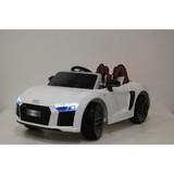 Детский электромобиль RiverToys Audi R8 белый