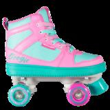 Роликовые коньки для танцев Boogie-Woogie розовые