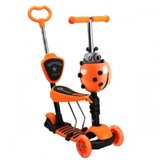 Самокат Scooter 21st. 5в1 Божья коровка оранжевый