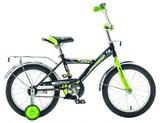 """Детский велосипед NOVATRACK Astra 16"""" от 4 до 6 лет черный"""