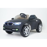 Детский электромобиль RiverToys BMW P333BP черный матовый
