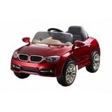 Детский электромобиль RiverToys BMW P333BP вишневый глянец