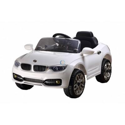 Детский электромобиль RiverToys BMW P333BP белый