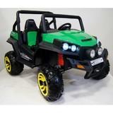 Электромобиль двухместный Rivertoys Buggy T009TT зеленый