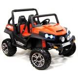 Электромобиль двухместный Rivertoys Buggy T009TT оранжевый