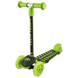 Детский трехколесный самокат Tech Team Lambo зеленый