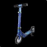 Самокат Tech Team Laser 2018 синий с надувными колесами