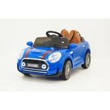 Электромобиль RiverToys Mini Cooper С111СС синий