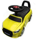 Машинка-каталка River Toys AUDI толокар с музыкой JY-Z01A Желтый