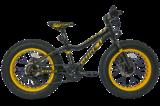 """Велосипед Фэтбайк Tech Team Garet 24"""" черный"""