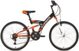 """Подростковый велосипед Stinger Banzai 24"""" Черно-Оранжевый"""