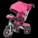 Трехколесный велосипед Tech Team Luxury розовый