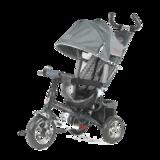 Детский трехколесный велосипед Tech Team 952S с колесами ПВХ серый