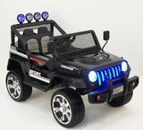 Детский полноприводный электромобиль RiverToys Jeep Т008ТТ 4*4 черный