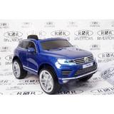 Электромобиль Rivertoys Volkswagen Touareg синий глянец