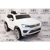 Электромобиль Rivertoys Volkswagen Touareg белый