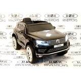 Электромобиль Rivertoys Volkswagen Touareg черный глянец