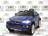 Детский электромобиль RiverToys BMW X6 (Лицензионная Модель)