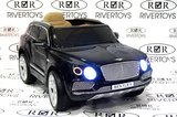 Детский электромобиль BENTLEY-BENTAYGA (ЛИЦЕНЗИОННАЯ МОДЕЛЬ) Черный