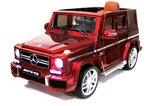 Электромобиль RiverToys Mercedes-Benz G63 AMG вишневый глянец