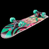 Деревянный скейтборд Switch бирюзовый
