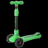 Детский трехколесный самокат Tech Team Tiger Plus зеленый
