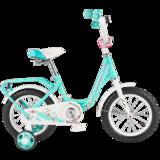 """Детский велосипед Tech Team 131 12"""" от 2 до 4 лет бирюзовый"""