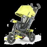 Детский трехколесный велосипед Tech Team 952S-AT с надувными колесами салатовый
