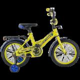 """Детский велосипед Tech Team 135 12"""" от 2 до 4 лет желтый"""